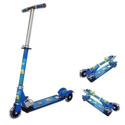 Xe trượt scooter 3 bánh có bánh phát sáng cho bé Xanh