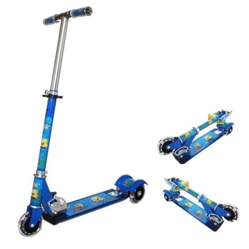 Xe trượt scooter 3 bánh có bánh phát sáng cho bé Xanh - 4975068 , 8456731 , 15_8456731 , 180000 , Xe-truot-scooter-3-banh-co-banh-phat-sang-cho-be-Xanh-15_8456731 , sendo.vn , Xe trượt scooter 3 bánh có bánh phát sáng cho bé Xanh