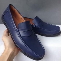 Giày nam đế cao kiểu mọi thể thao màu xanh navy
