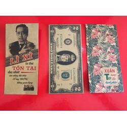 combo 100 Bao lì xì giá rẻ - sỉ và lẻ 2018 loại 1