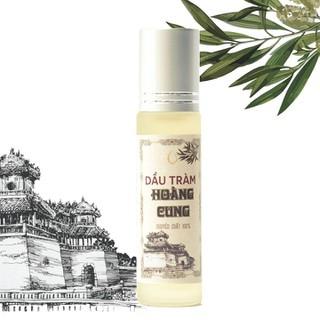 Dầu tràm cho bé - dầu tràm Hoàng Cung 10ml chai lăn - TRAM_10_DL_B thumbnail