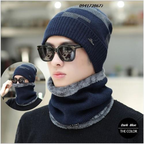 Bộ mũ nón kèm khăn ống  len  nam nữ  ấm áp - 5145235 , 8463268 , 15_8463268 , 300000 , Bo-mu-non-kem-khan-ong-len-nam-nu-am-ap-15_8463268 , sendo.vn , Bộ mũ nón kèm khăn ống  len  nam nữ  ấm áp