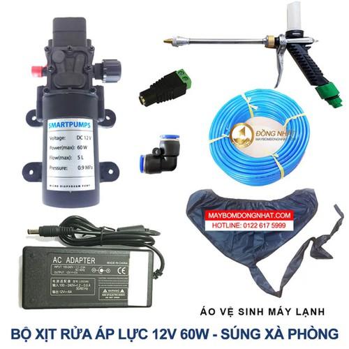 Bộ xịt rửa xe vệ sinh máy lạnh 12V 60W – Option 2 - 5142979 , 8459233 , 15_8459233 , 1300000 , Bo-xit-rua-xe-ve-sinh-may-lanh-12V-60W-Option-2-15_8459233 , sendo.vn , Bộ xịt rửa xe vệ sinh máy lạnh 12V 60W – Option 2