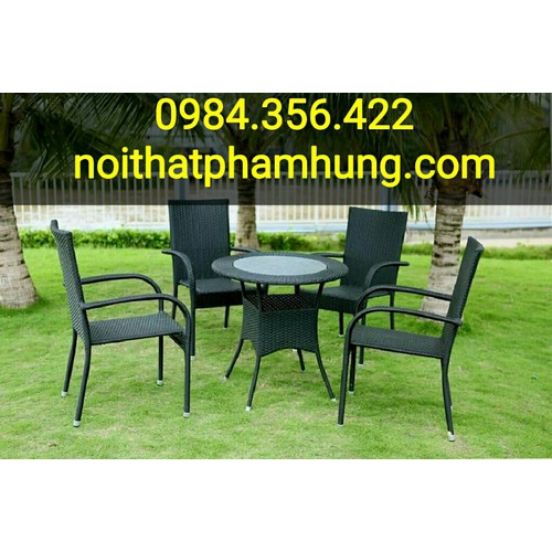 Bộ bàn ghế càfê mây nhựa giá rẻ nhất - 5139065 , 8450898 , 15_8450898 , 1680000 , Bo-ban-ghe-cafe-may-nhua-gia-re-nhat-15_8450898 , sendo.vn , Bộ bàn ghế càfê mây nhựa giá rẻ nhất
