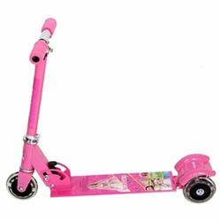 Xe trượt scooter 3 bánh có bánh phát sáng cho bé Hồng