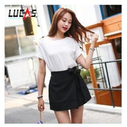 Quần Giả Váy Thắt Nơ Thời Trang Hàn Quốc