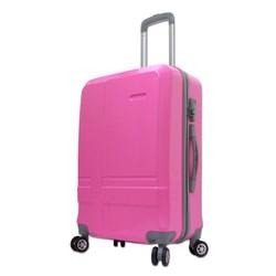Vali du lịch nữ tính xách tay 7Kg nhựa dẻo nhẹ màu hồng phấn TL042