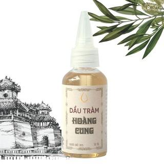 Dầu tràm cho bé - dầu tràm Hoàng Cung 50ml chai nhựa - TRAM_50_NH_B thumbnail