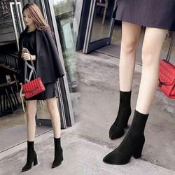 giày boot cổ cao _pll5301