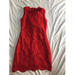 Đầm dự tiệc đỏ đồng giá 100k