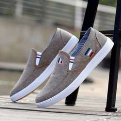 Giày lười vải nam