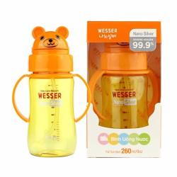 Bình tập uống nước Wesser 260ml