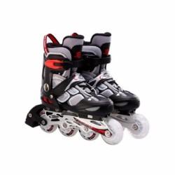 Giày trượt Patin có đèn 835LSG màu ghi đen