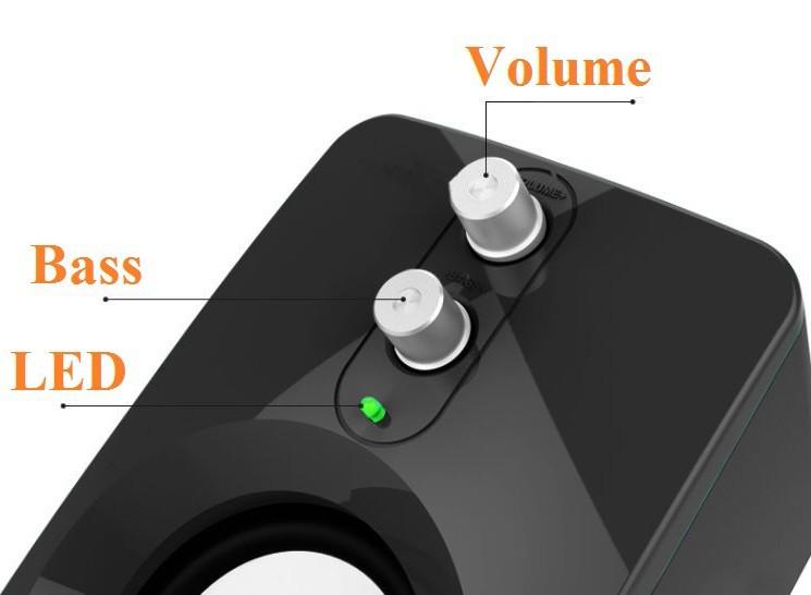 Loa Nghe Nhạc Điện thoại, Máy tính, PKCB-201 Speakers 14