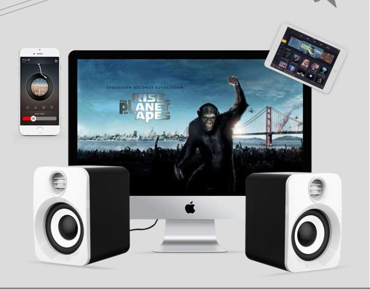 Loa Nghe Nhạc Điện thoại, Máy tính, PKCB-201 Speakers 20