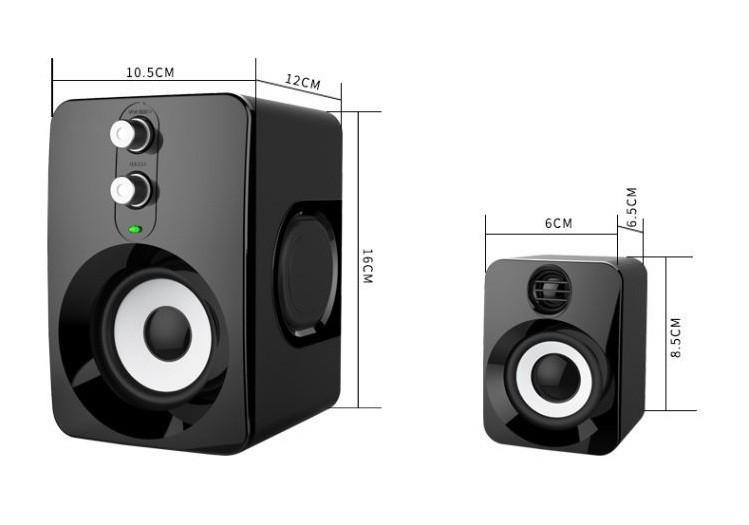 Loa Nghe Nhạc Điện thoại, Máy tính, PKCB-201 Speakers 22