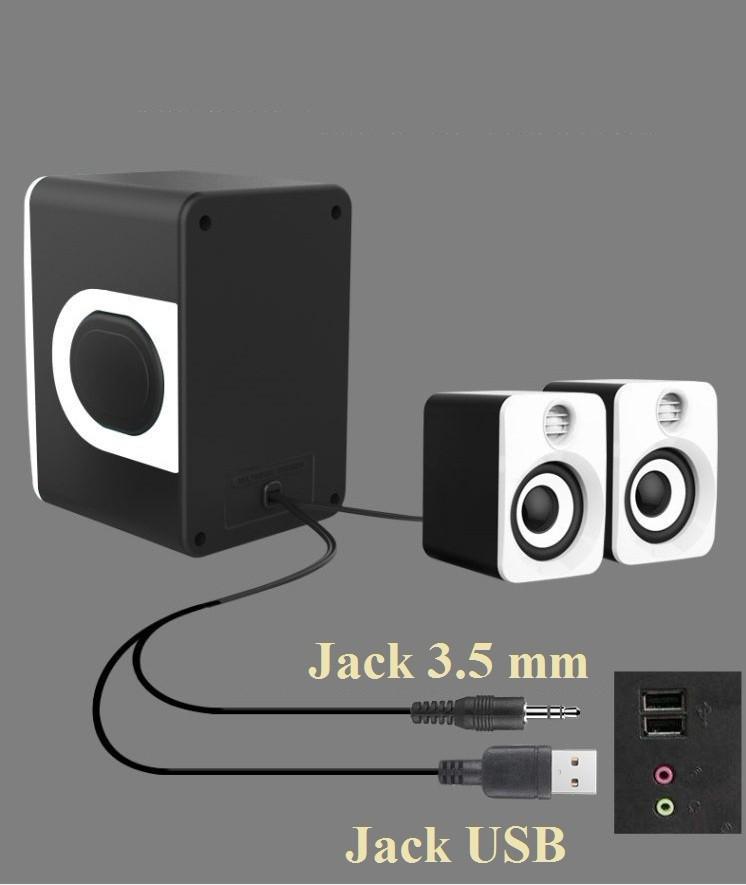 Loa Nghe Nhạc Điện thoại, Máy tính, PKCB-201 Speakers 18