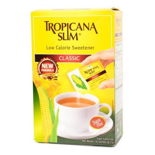 Đường Ăn Kiêng - Tropicana Slim - Hộp 50 gói