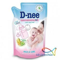 Nước rửa bình đựng sữa D-nee túi 600m