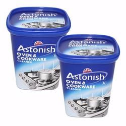 Bộ 2 Chất  tẩy rửa đa năng Astonish Oven Cookware