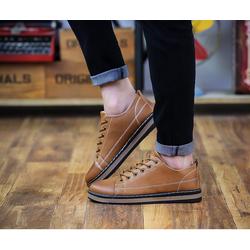 Giày da nam mẫu mới 2018 GLK112