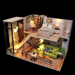 Bộ mô hình lắp ghép DIY Biệt Thự - Tặng kèm bộ phụ kiện 05 món