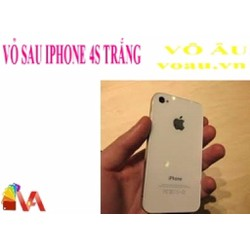 VỎ SAU IPHONE 4S MÀU TRẮNG