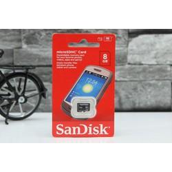 Thẻ nhớ MicroSD Sandisk 8GB class 4