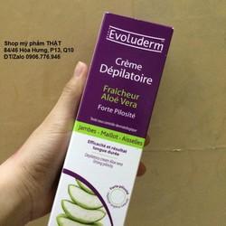 Kem tẩy lông chiết xuất nha đam Evoluderm xuất xứ Pháp