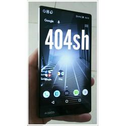 điện thoại sharp 404sh 5inch7 viền mỏng ram 3gb s810
