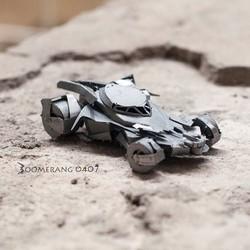 Mô hình lắp ghép 3D Kim loại Xe Batman #001