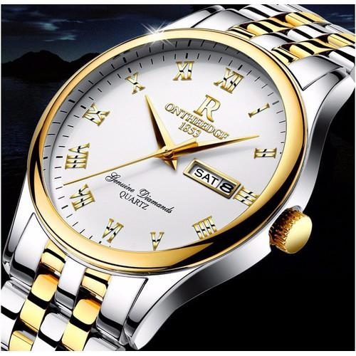 Đồng hồ Ontheedge dây thép đặc fullbox