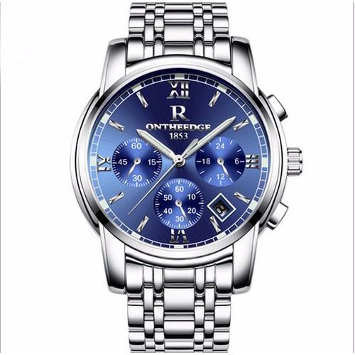 Đồng hồ Ontheedge 6 kim dây thép đặc fullbox