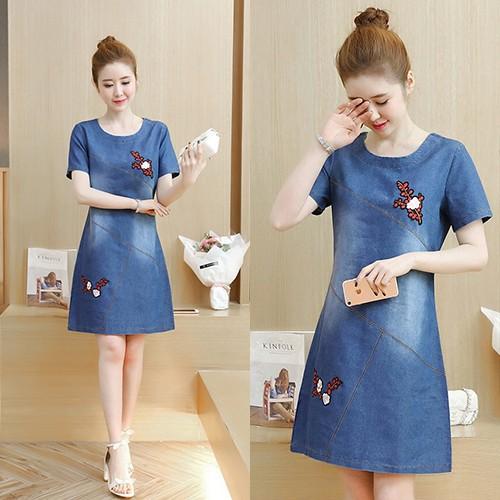 Đầm Jean Thu