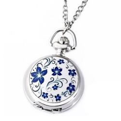 Đồng hồ quả quýt Hoa Bách Hợp