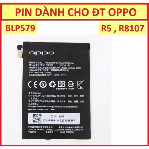 PIN OPPO R5