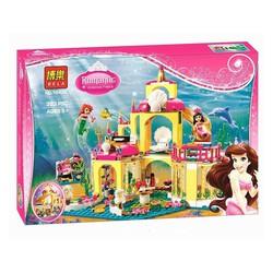 Lego mô hình lâu đài dưới nước của nàng tiên cá Ariel
