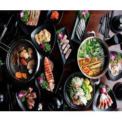 Buffet Nướng Lẩu đặc biệt menu Vip free Coca tại A1 Restaurant  Korean BBQ  Hotpot