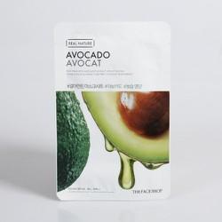 10 tặng 01 Mặt nạ giấy Real Nature Mask Avocado Bơ TFS - MNTF10