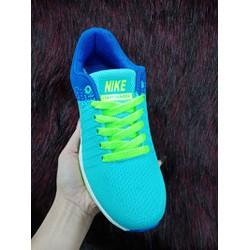 Giày sneaker nữ xanh F1