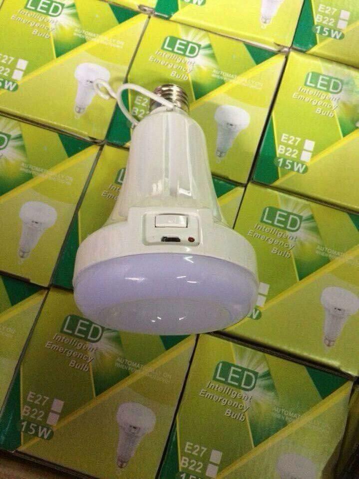 Bóng đèn LED tích điện 15W kết hợp đèn pin- 0965011567 1