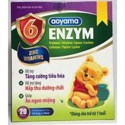 Combo 3 hộp : 6 ENZYM - Hỗ trợ tiêu hóa, giúp ăn ngon miệng