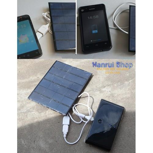 Worldmart thiết bị sử dụng năng lượng mặt trời sạc điện cổng usb 3.5w 6v