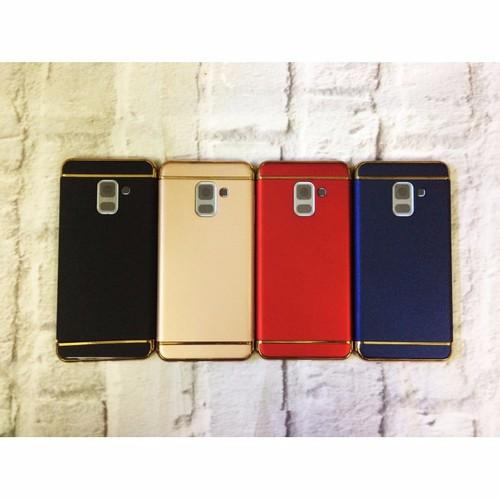 Ốp lưng Samsung A8 2018 lắp ráp 3 Mảnh