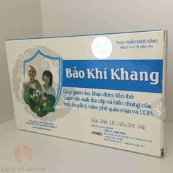 Bảo Khí Khang - Giảm Các Triệu Chứng Ho, Khó Thở