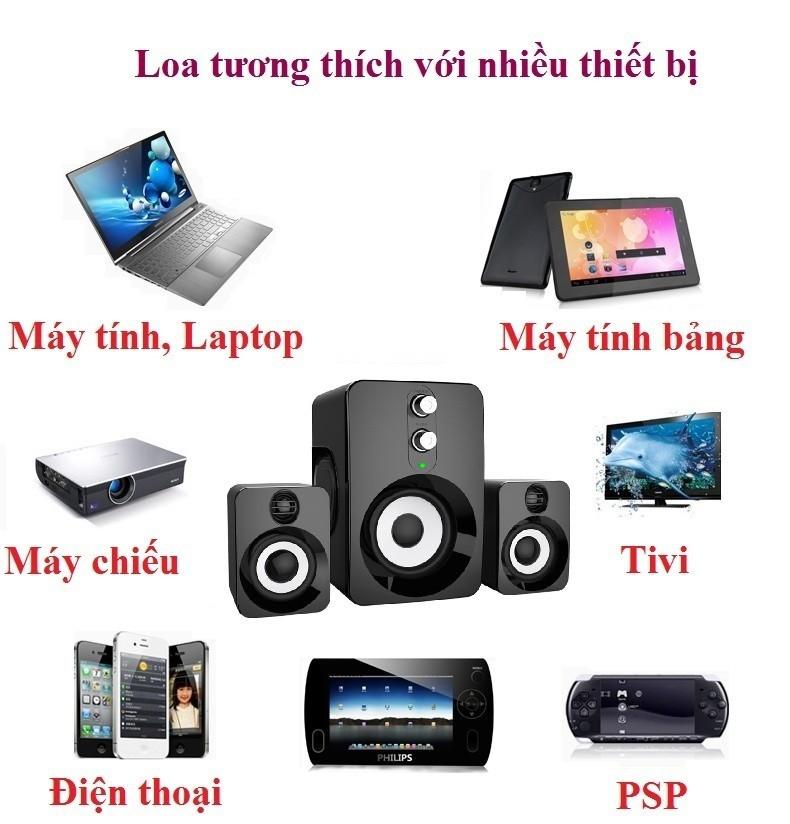 Loa Nghe Nhạc Điện thoại, Máy tính, PKCB-201 Speakers 3
