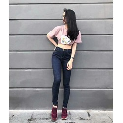 Quần Jeans Nữ co giãn tốt có size lớn 26-35