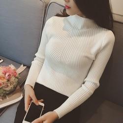 Áo dệt kim dài tay