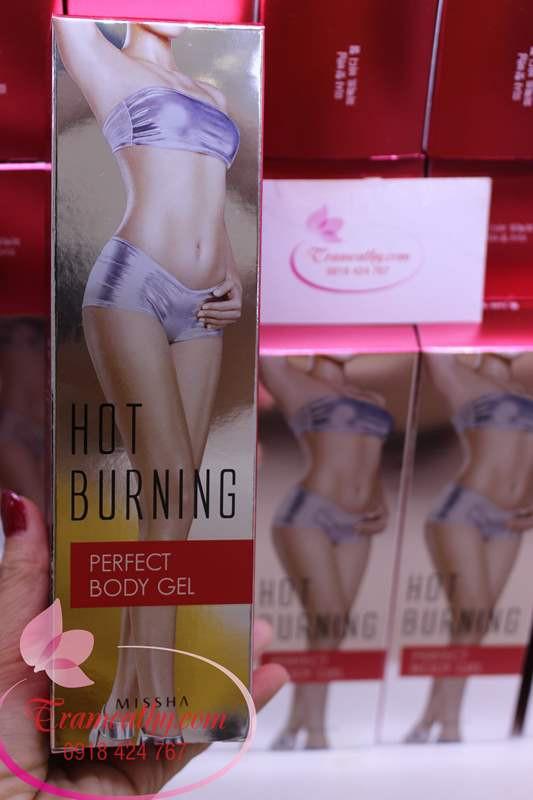 Kem tan mỡ  Gel burning perfect body gel 1
