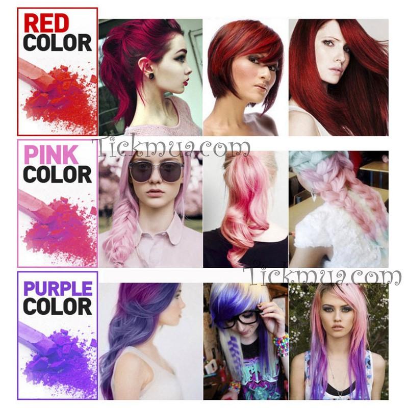 Set phấn nhuộm tóc 12 màu Joyous 1